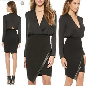 Bec + Bridge Ride or Die Black Long Sleeve Dress